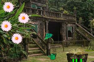 《被遗忘的花园逃脱》游戏画面1