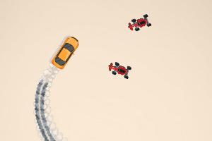 《被追赶的车》游戏画面1