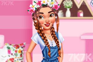 《爱漂亮的公主》游戏画面2