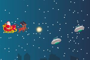《圣诞老人战外星人》游戏画面1