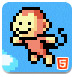 像素猴跳跃挑战