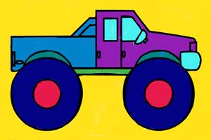 《怪物卡车图画册》游戏画面1