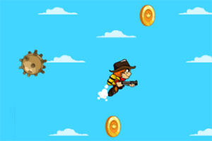 《采集金币的杰克》游戏画面1