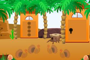 《感恩节逃出沙漠》游戏画面1