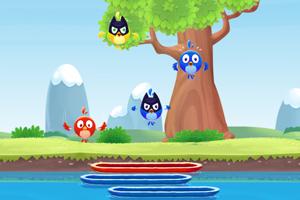 《掉落的小鸟》游戏画面1