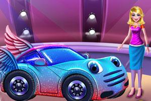 《高中女孩洗车》游戏画面1