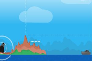 《小岛防卫战》游戏画面1