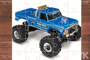 《怪物卡车拼图挑战》游戏画面2