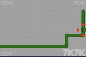 《贪吃的小青蛇》游戏画面2