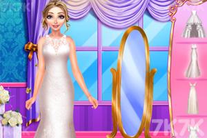 《金发女郎的婚礼》游戏画面1