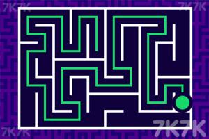 《绿球过迷宫》游戏画面2