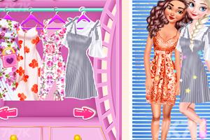 《时尚街拍姐妹花》游戏画面1