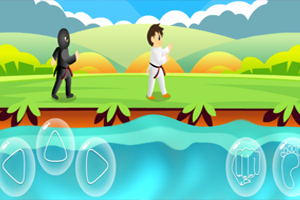 《空手道对决》游戏画面1