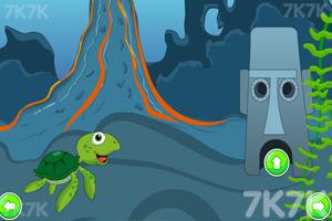 《水下世界逃脱》游戏画面1