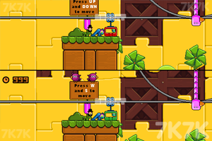 《可爱过山车》游戏画面1