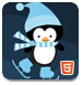 可爱的企鹅拼图