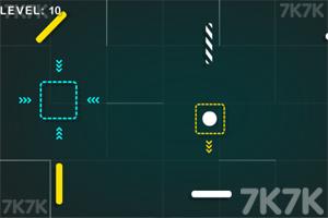 《弹跳球进方框》游戏画面2
