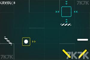 《弹跳球进方框》游戏画面3