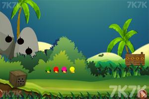 《小蜗牛逃走》游戏画面1