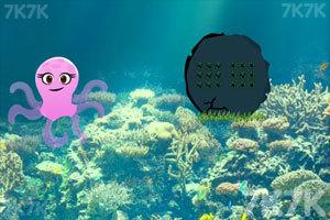 《救援海底章鱼》游戏画面2