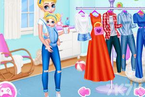 《时尚的大小公主》游戏画面1