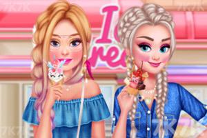 《姐妹爱吃冰淇淋》截图2