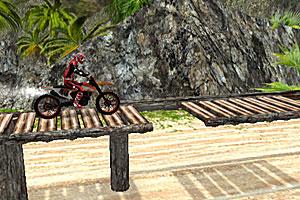 《野外摩托挑战赛》游戏画面1