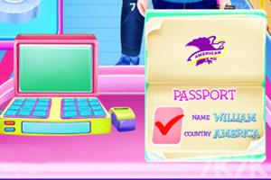 《宝贝泰勒当空姐》游戏画面4