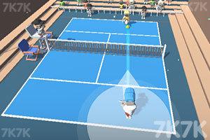 《职业网球比赛》游戏画面2