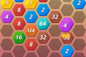 《六边消除2048》游戏画面1
