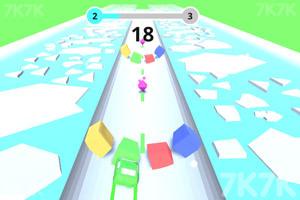 《彩色障碍赛》游戏画面2