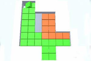 《方块冲突》游戏画面2