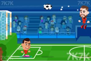 《足球大师赛》游戏画面3