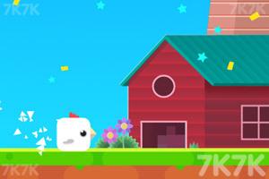《小鸡回屋》游戏画面1