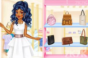 《时尚姐妹出街装》游戏画面2