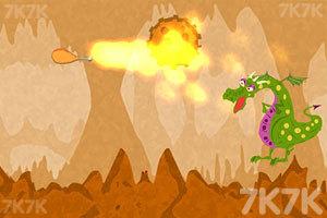 《贪吃的小火龙》游戏画面3