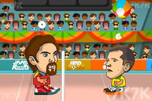 《头部足球大赛》游戏画面2
