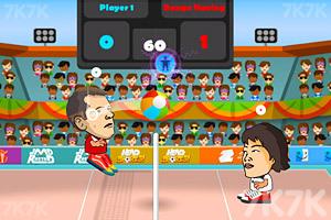 《头部足球大赛》游戏画面1