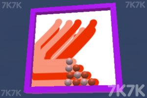 《彩球涂涂乐》游戏画面1