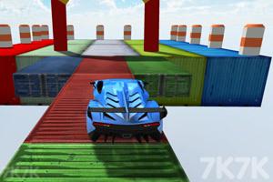《空中飞车挑战赛》游戏画面2