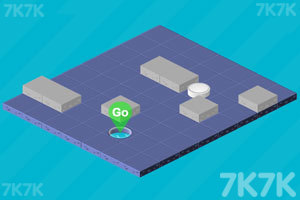 《冰球进洞》游戏画面1