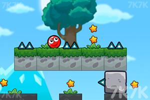《小红球的大冒险2》游戏画面1