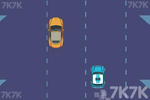 《快速避车》游戏画面1