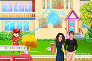 《宝贝泰勒消防员体验》游戏画面2