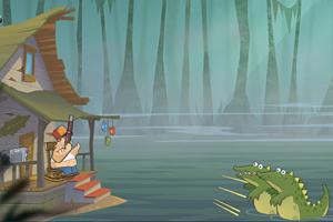 沼泽防御战