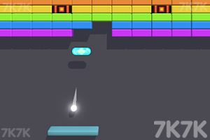 《打彩色砖块》游戏画面1