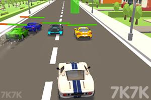 《城市賽車競賽》截圖2