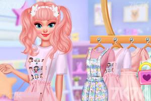 《粉色女孩装》截图3