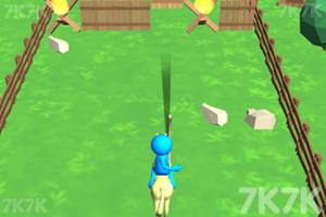 《騎馬的弓箭手》游戲畫面2