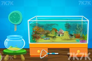 《清理水族馆》游戏画面1